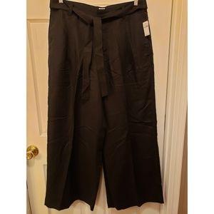 GAP high rise wide leg pants